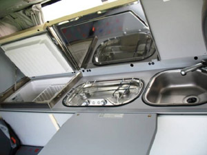 VW T4 California Coach keuken - Ad